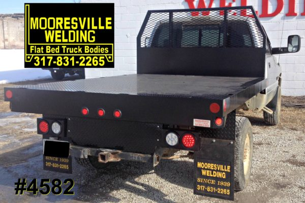 Mooresville Welding, Inc. Flatbed Truck Body #4582