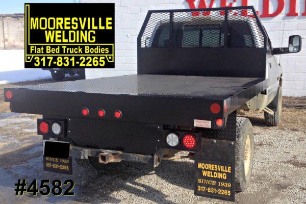 Mooresville Welding, Inc. Flatbed Truck Body #4582