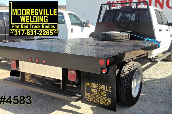 Mooresville Welding, Inc. Flatbed Truck Body #4583