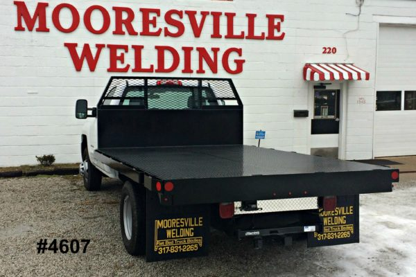 Mooresville Welding, Inc. Flatbed Truck Body #4607