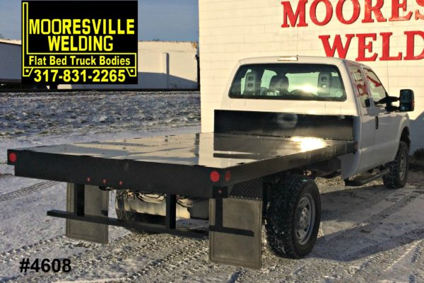 Mooresville Welding, Inc. Flatbed Truck Body #4608