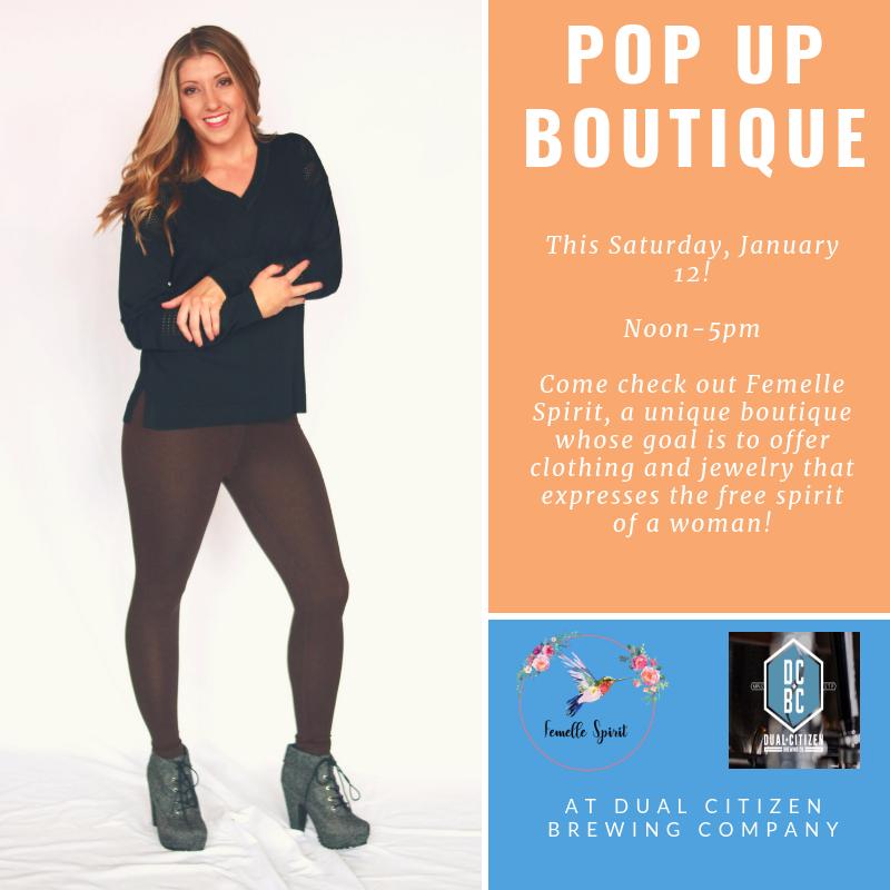 Femelle Spirit Pop-Up Shop: 11:30am-4:30pm