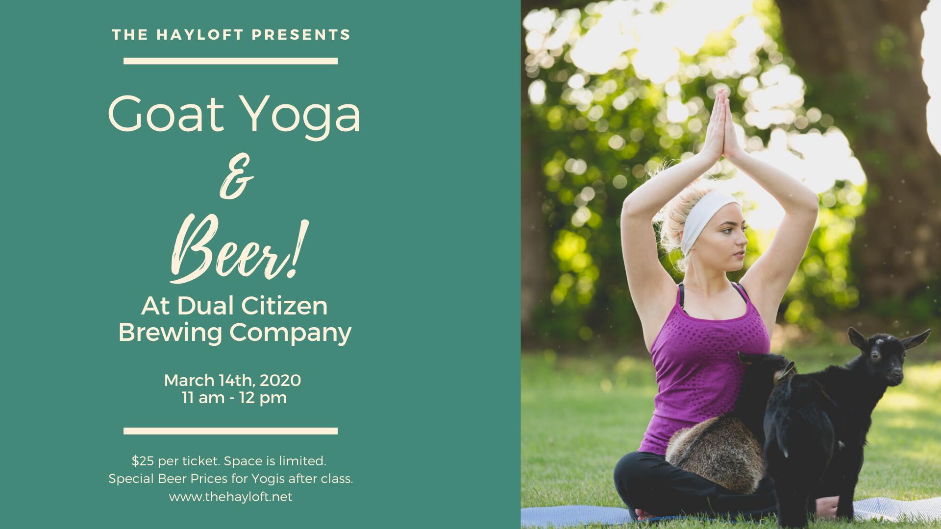 Goat Yoga w/ The Hayloft MN