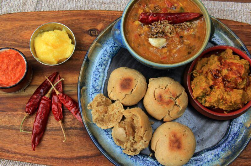 Dal Baati - A Rajasthani Delicacy