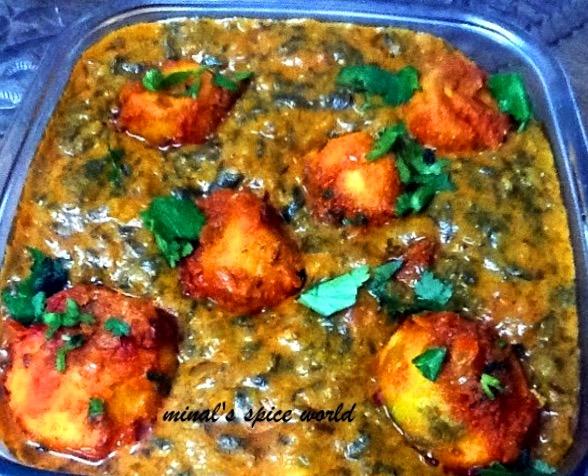 palak aloo curry