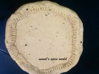 cheese stuffed pizza