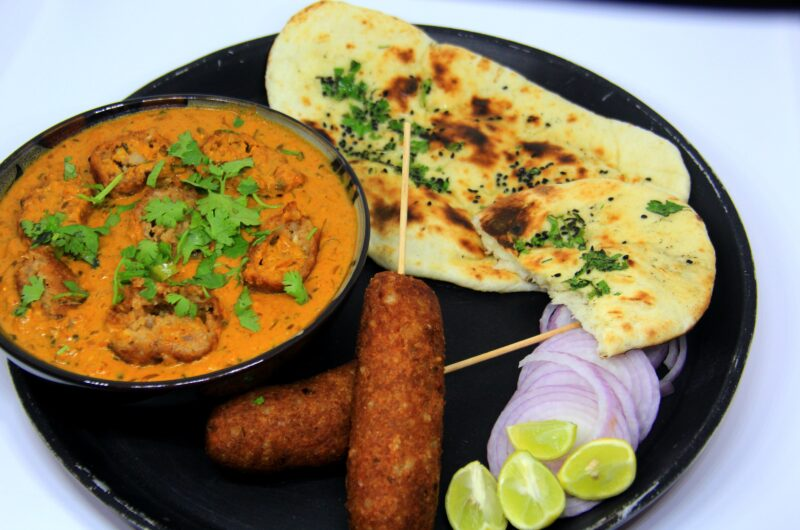Soya Chaap Curry - A Mughlai Curry