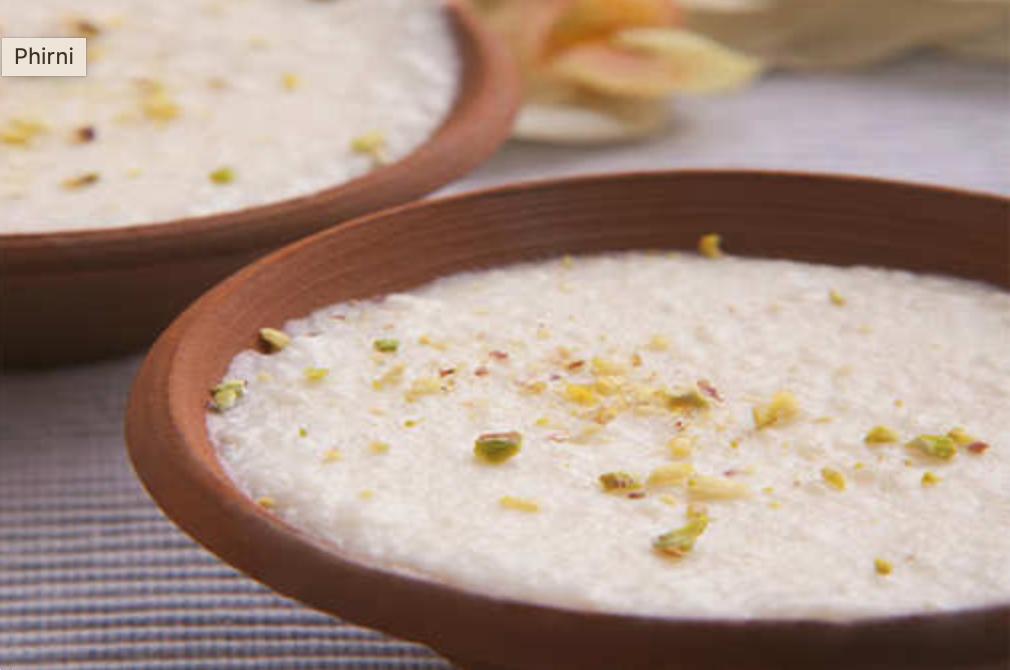Rice Phirni|Kesar Phirni|Phirni