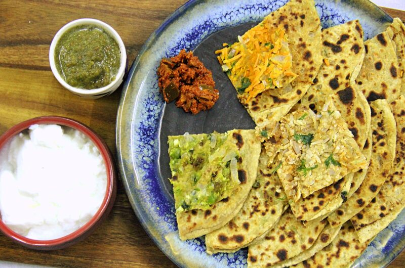 STUFFED PARATHAS-A PERFECT INDIAN BREAKFAST