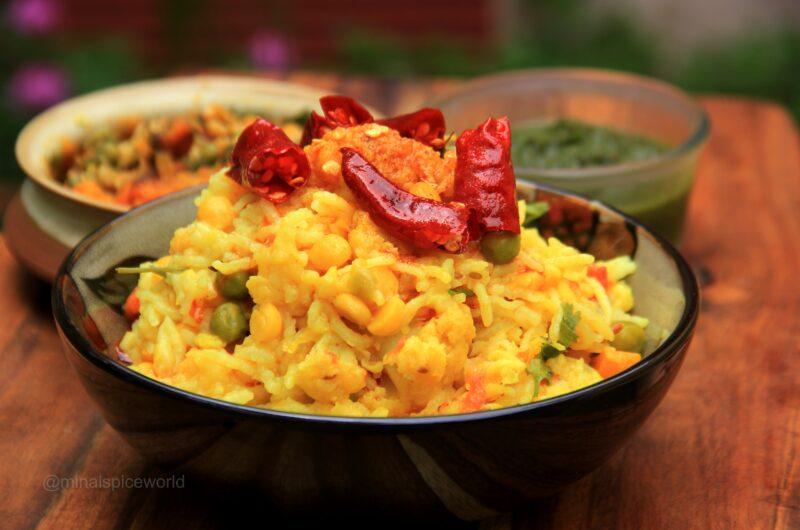 Daal Khichadi- One Pot Meal