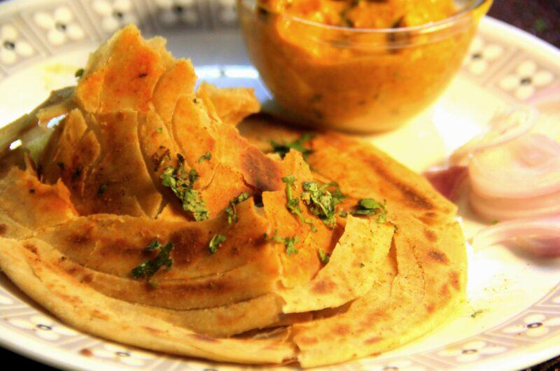 Chur Chur Paratha- A Flaky Masala Paratha