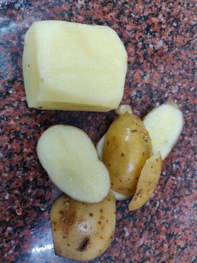 peel potato
