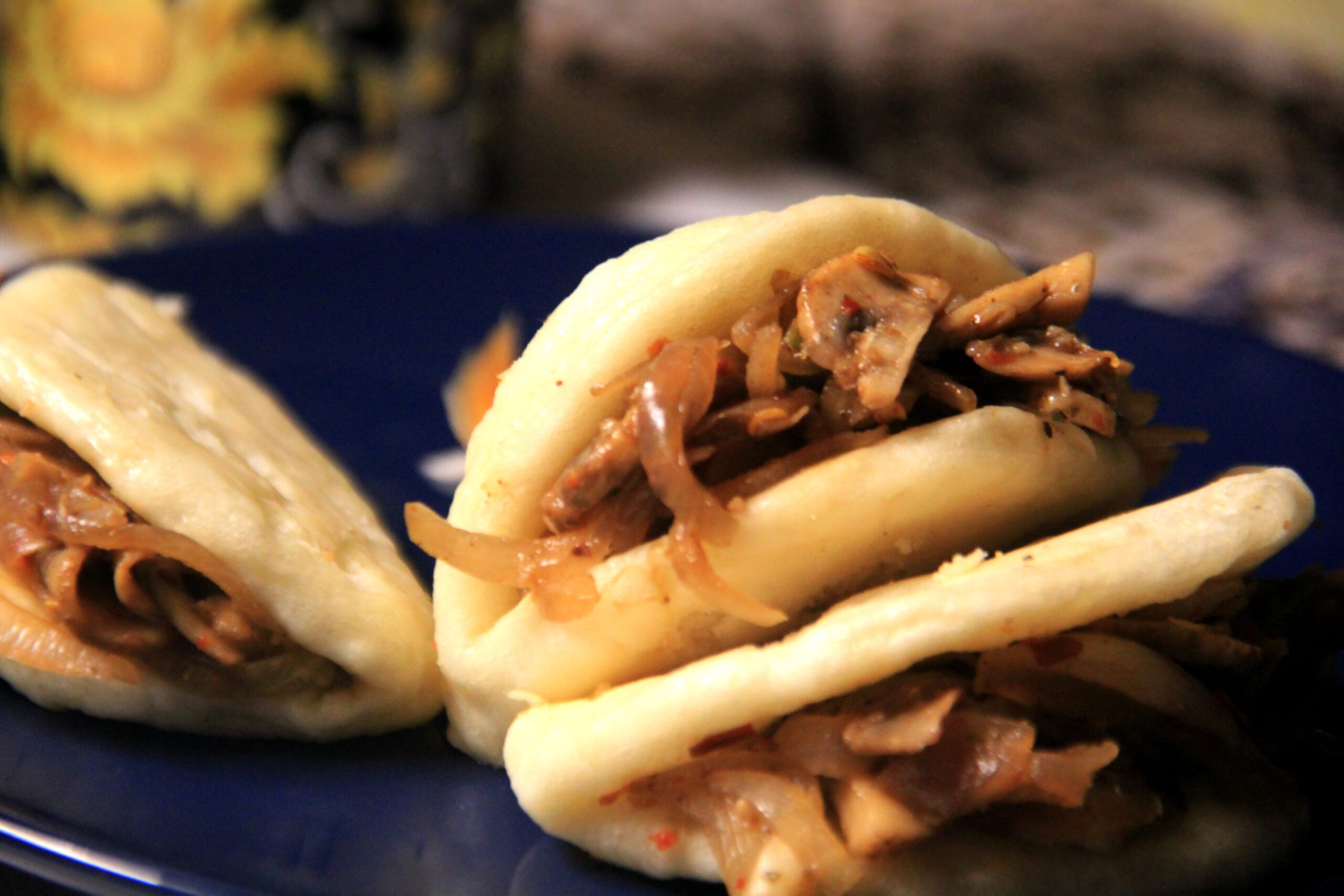 Mushroom Bao