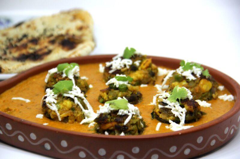 Shahi Stuffed Mushroom Curry