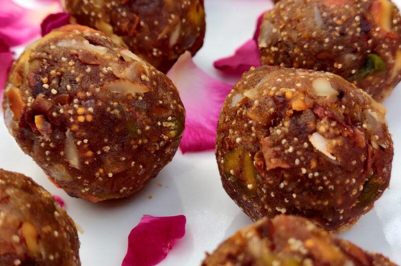 Dry Fruit Laddu: Without Sugar