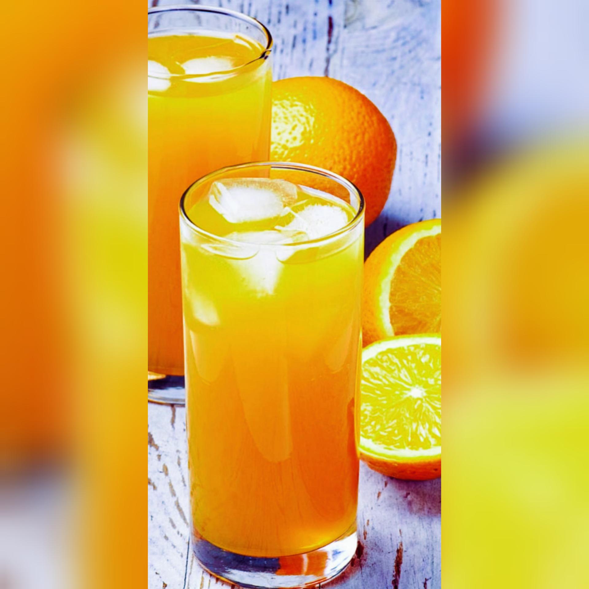 orange blossom mocktail