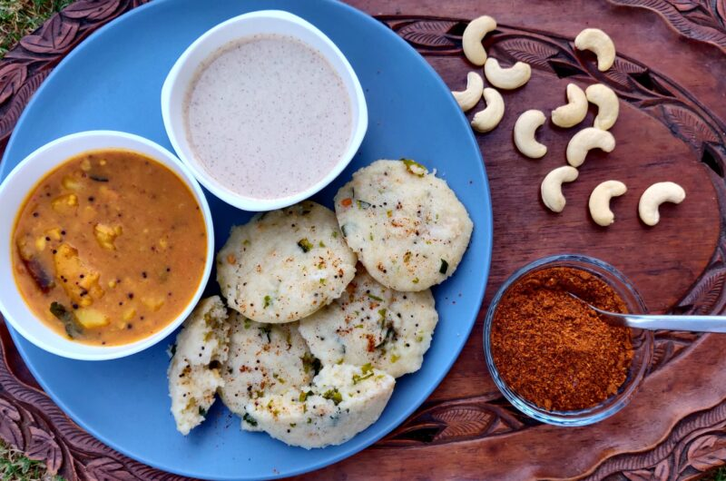 How To Make Rava Idli With Potato Sagu