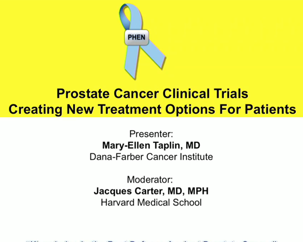 Prostate Cancer Clinical Trials are Creating New Treatment Options with Dr. Mary Taplin