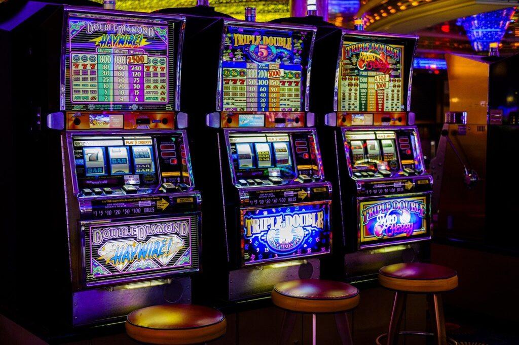 casino, arcade, slot machines