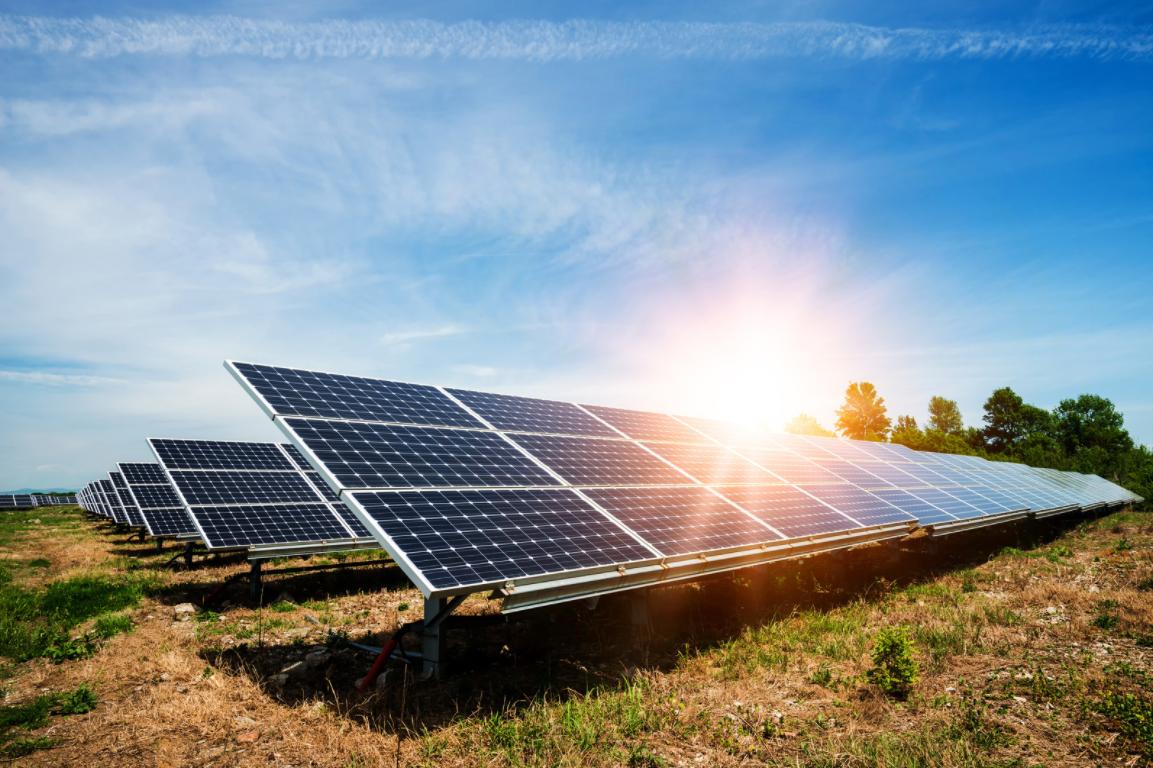 solar panels environment