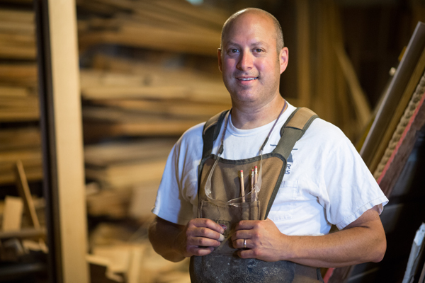 South Bend artisan makes handcrafted furniture