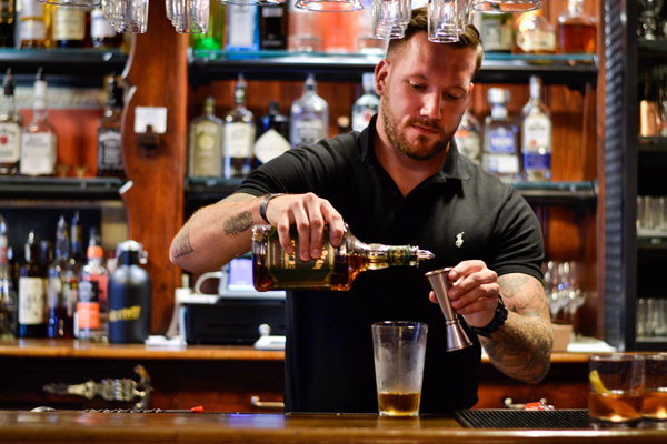 Behind the bar with Michael Bliele