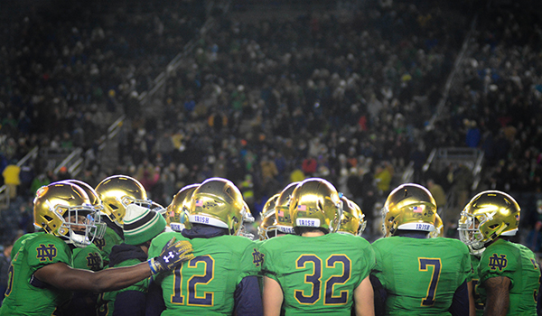 Cheer for old Notre Dame