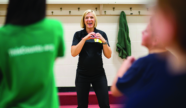 Fitness instructor focuses on wellness of local youth