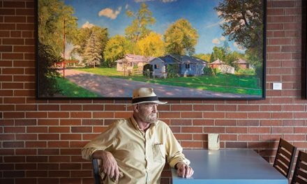 Artist's paintings highlight local landscape