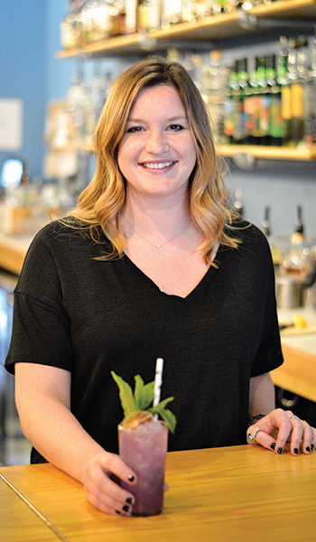 Behind the bar with Brooke Donegan