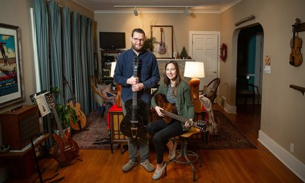South Bend couple crafts artisan guitars using science, art backgrounds