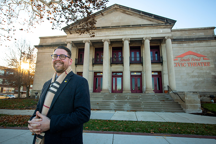 Building on the forward momentum in the City of South Bend, the South Bend Civic Theatre is for the future through community collaboration