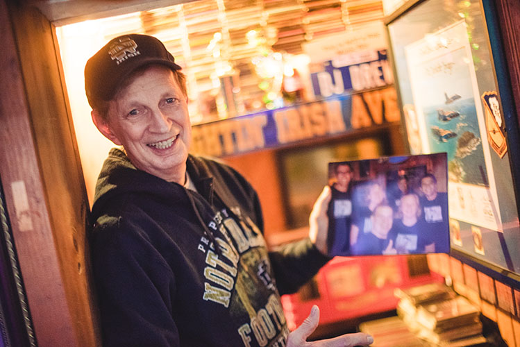South Bend deejay marks 30 years at Linebacker Lounge