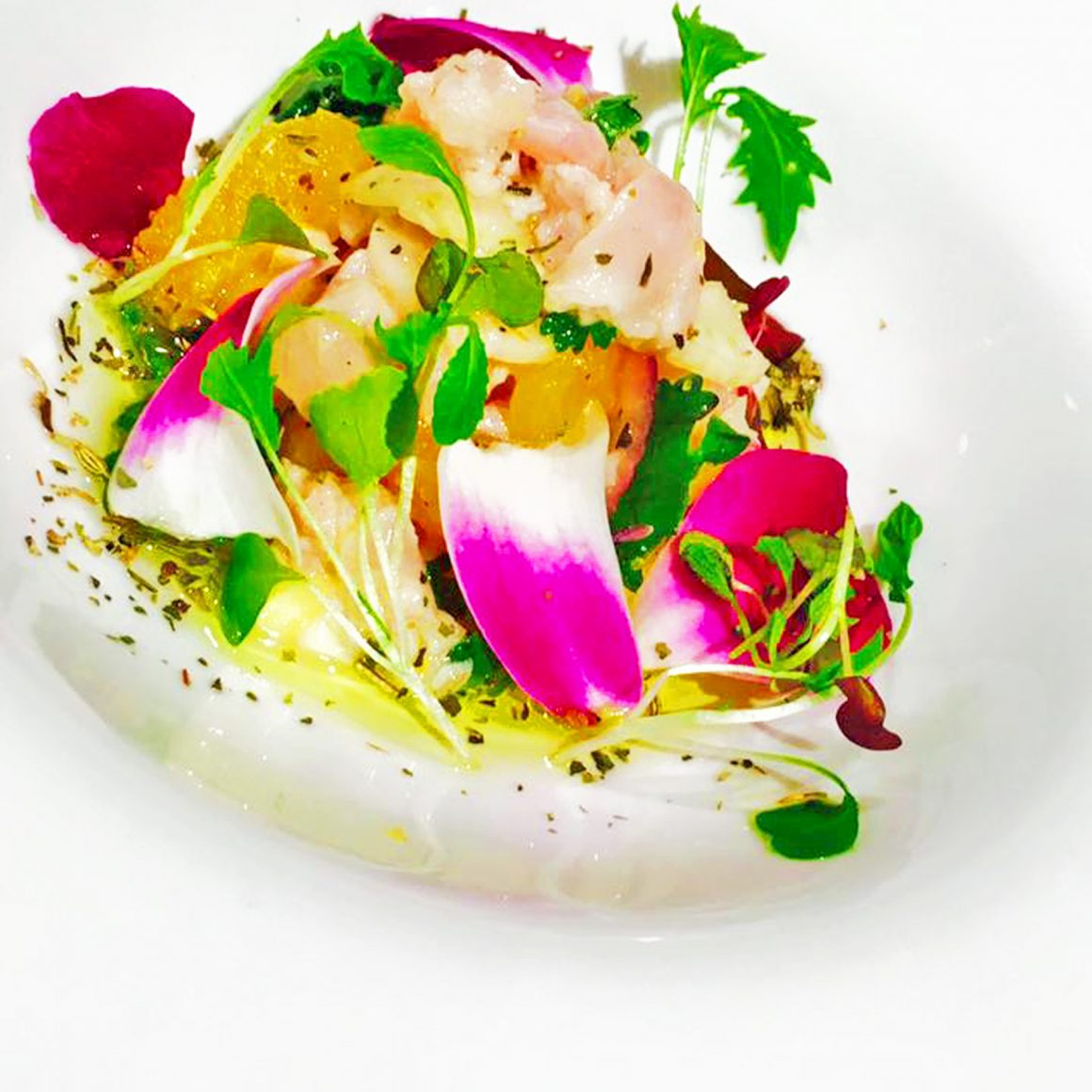 Recipe: Red Snapper Ceviche by Chef Randy Siles