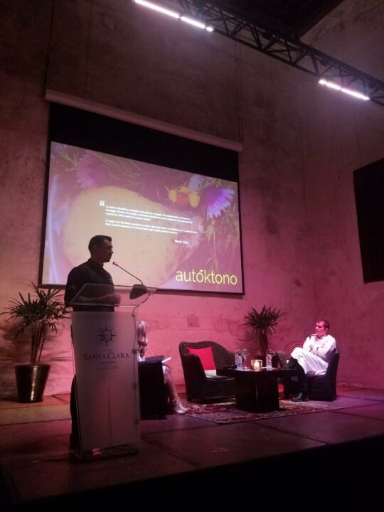 Autóktono Presents at the Gastronomy Festival of Sustainable Cuisine in Colombia