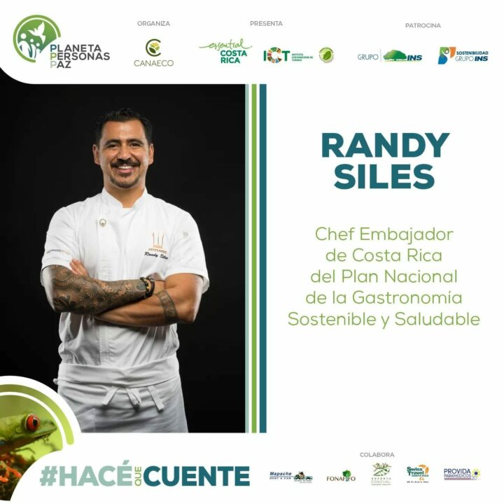 Randy Siles Guest Speaker at the 6th International Conference on Sustainable Tourism: Planet, People, Peace