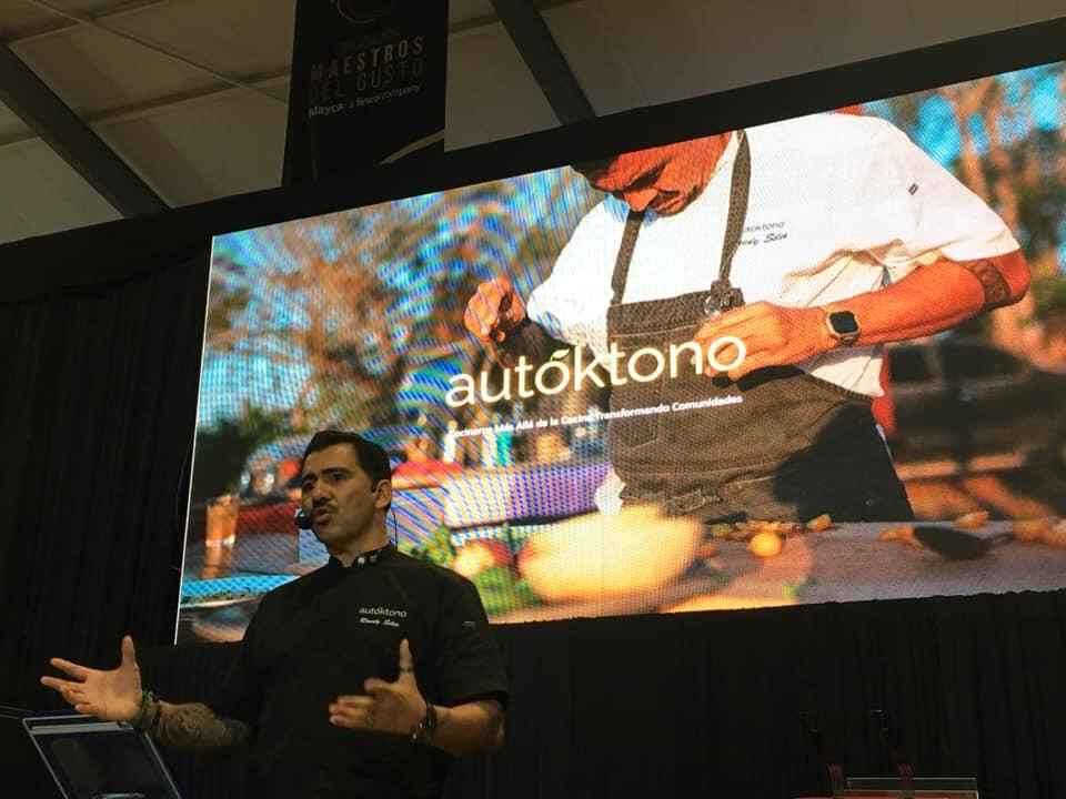 Randy Siles Invited Speaker at the Gastronomic Encounter