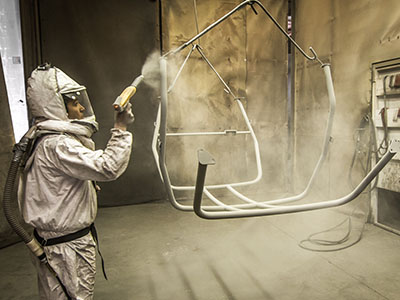 Sandblasting, Priming, and Powder Coating in Utah