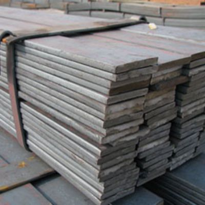 stack of metal supply
