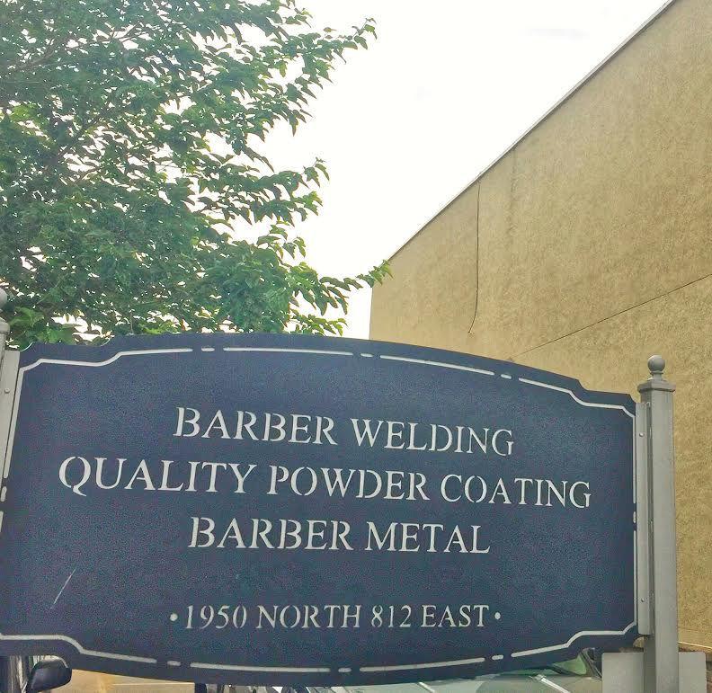 Quality Powder Coating sign