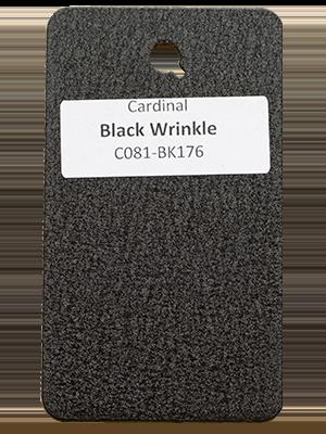 Black Wrinkle Powder Coating Utah