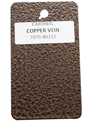 Copper Vein Powder Coating