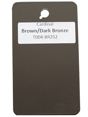Dark Bronze Powder Coating