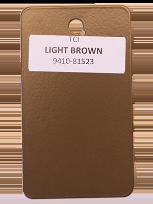 Light Brown Powder Coating