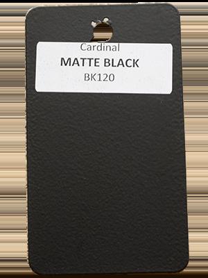 Matte Black Powder Coating Utah