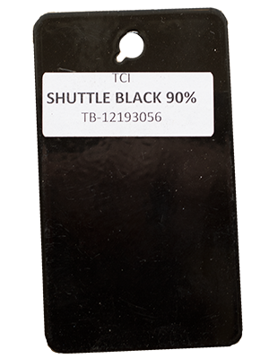 Shuttle Black Powder Coating