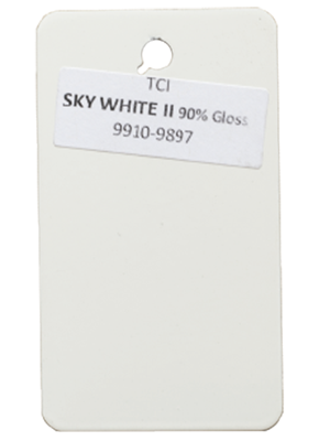 Sky White Powder Coating Color