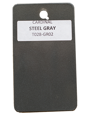 Steel Gray Powder Coating