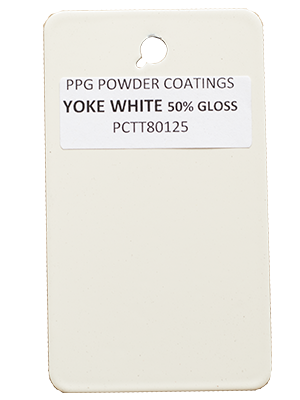 White Powder Coating Color