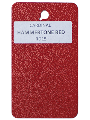 Hammertone Red Powder Coating Utah